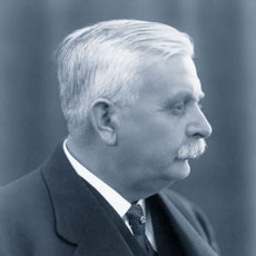 Oscar Kjellberg, the inventor of the coated electrode and ESAB's founder.